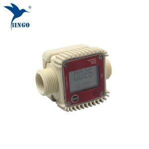 ઉચ્ચ ગુણવત્તા 10-120 એલ / મિનિટ ડિજિટલ ફ્યુઅલ પાણી ઇલેક્ટ્રોનિક ટર્બાઇન ફ્લો મીટર